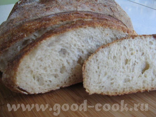 Вермонтский хлеб с обойной мукой Одним ржаным хлебом в доме не обойдешься, поэтому испекла вот тако... - 2