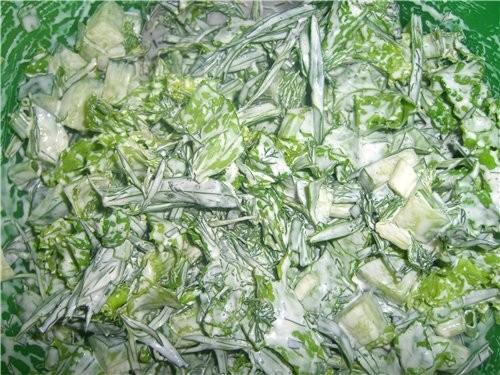 Приготовила КЮКИ (азербайджанская кухня) и салат с тархуном от Lvitsa - 2