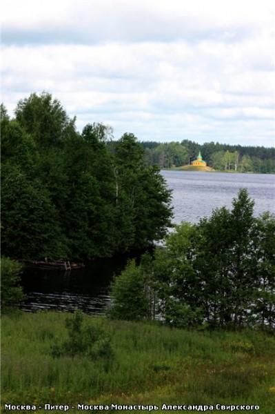 А вот такое там небо … Рощинское озеро Развалины монастырской пекарни, которая, кстати, снабжала хл... - 3