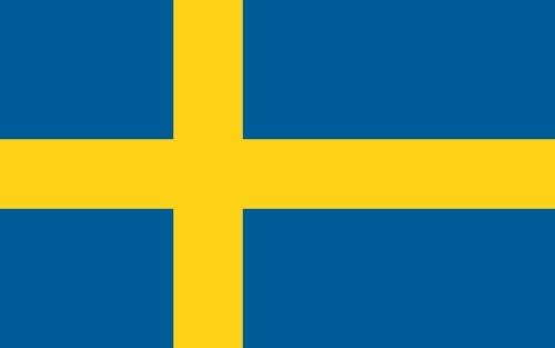 А я совершенно случайно узнала, что сегодня национальный праздник Швеции - день флага (надеюсь, нич...