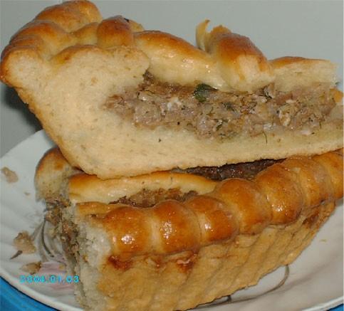 А я сегодня пекла пампушки к борщу и заодно сделала пирог с капустой - 2