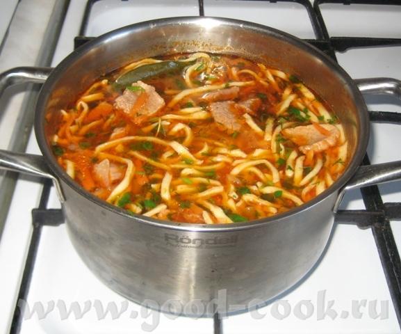ЛАГМАН ДОМАШНИЙ В рецептах на сайте лагман подается как второе блюдо - 9