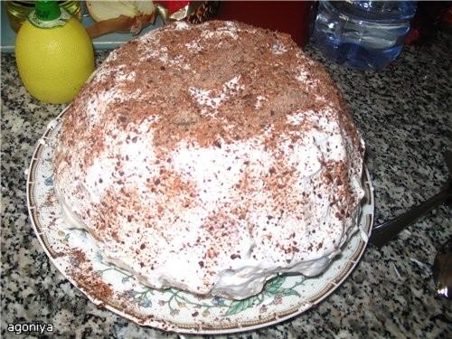 """спасибо за рецепт орегенального и вкусного тортика """"трухлявый пень """" время затраченое на его прегот..."""