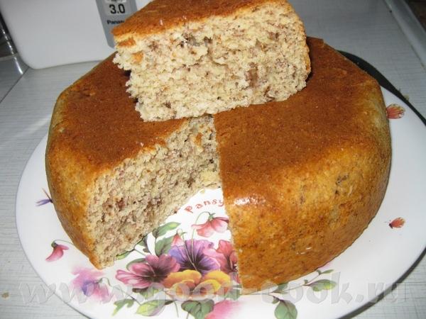 Сделала и я банановый кекс от filichita , сам рецепт ТУТ Лариса, спасибо, кекс очень вкусный и аром...