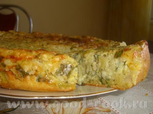 Картофельный пирог с пряной зеленью - 2