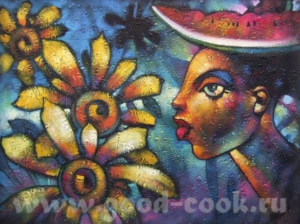 CUBA, JAMAICA- кубинское искусство, ямайское искусство CUBA- xудожник Valle Cuba- xудожник Alain C... - 2