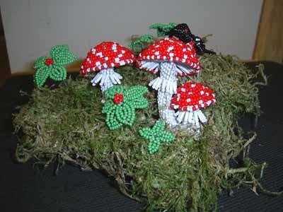 Это предыдущая работа - грибочки Одна из вязанных игрушек - спящий котик для сына Одна из куколок -...