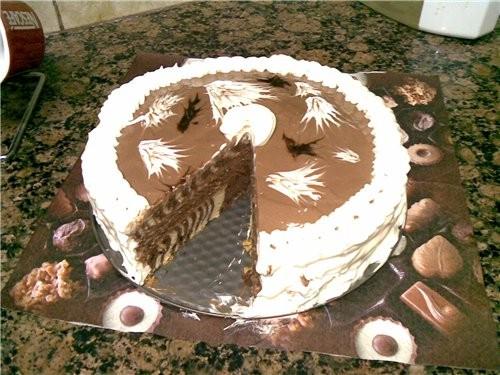 """Решила спечь торт """"Зебра"""" по рецепту своих подростковых записей,но так увлеклась украшением,что и н... - 5"""