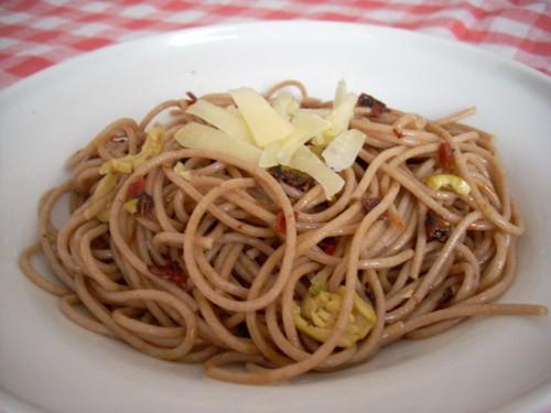 Диетическая лазанья Спагетти с сушёными помидорами и оливками - 3