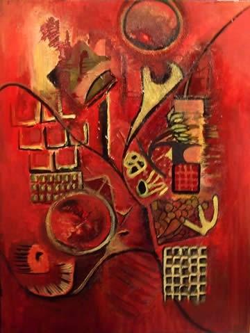 Рисуем абстракцию акрилом Еще одна абстракция Тосканский пейзаж Копия Моне Пошаговая картина и... - 2