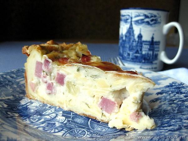 Кусочек Франции в тарелке Это очень интересный пирог Гужере - 13