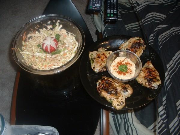 рулетик так апетитно выглядит прямо слюнки текут А у нас вчера на ужин били фаршированые кальмары с... - 2