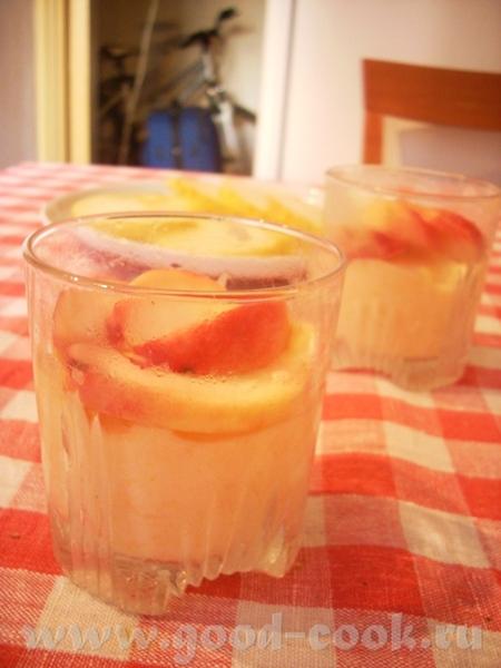рецепт мороженого- суфле, оставшийся с лета