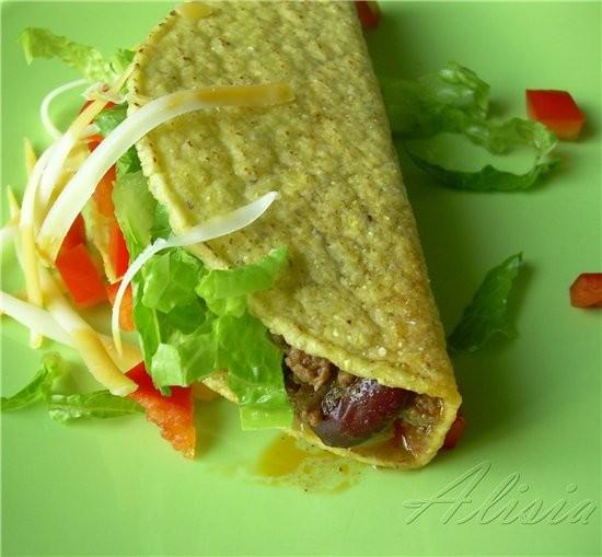 У нас был Мексиканский Такос, мои родные очень любят когда я устраиваю им подобный обед или ужин - 2