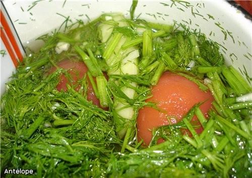 Хочу сказать Аллочке ( ) большущее спасибо за помидорки и огурчики - вкуснющие, малосольненькие