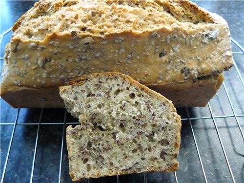 Вчера делала хлеб, конечно, не фонтан, но для тех затрат времени, очень даже хорошо, я представляла...