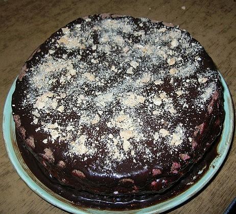 Ну и еще один поклон Ирине Кутовой за торт Улыбка Негра общий вид немного косоватая, надо сказать у...