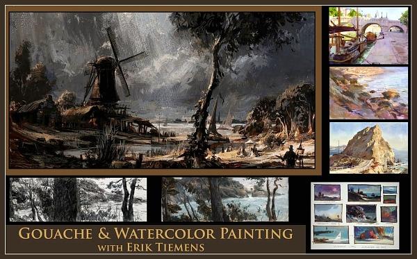 12 уроков акварельной живописи от английского художника Alwyn Crawshaw Диск 1 1 - 5