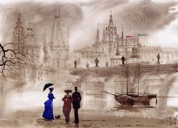 Этого художника еще не было смотрите какая красота Гаджиевы Сабир и Светлана ссылка на картины
