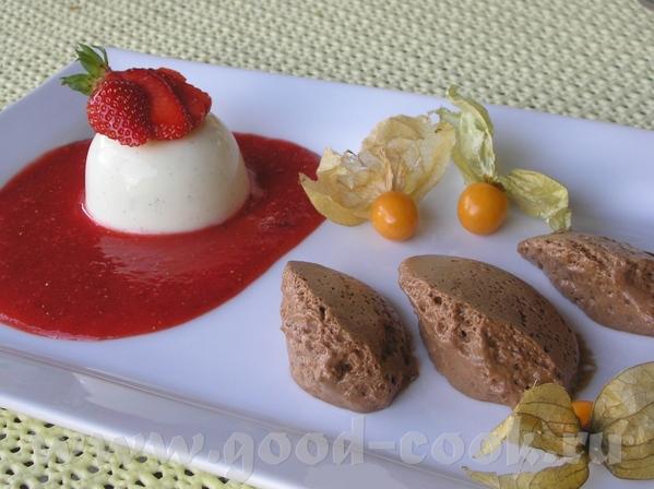 Ето был мой первый десерт в жизни, который я делала с желатином, который я так смогла украсить и ко... - 2