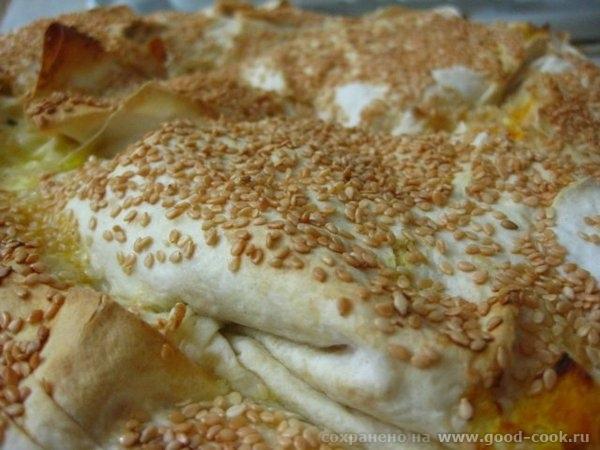 Тыквенно-сырный бёрек 1 кг тыквы потушить до готовности (в мультиварке 1 час с добавлением 2 ст - 2