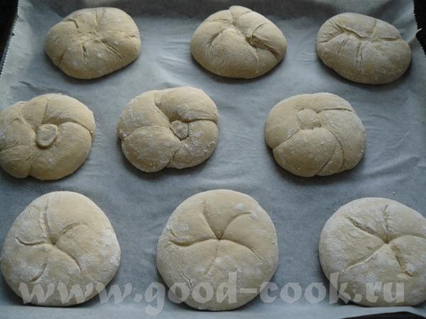 Ставлю из-за теста, не из-за формирования булочек, поэтому не обсуждайте пожалуйста, просто на вкус... - 2