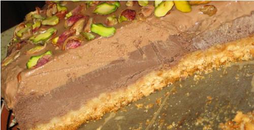 Шоколадный творожный торт с фисташками oт Light225 Люся, узнаёшь - 2