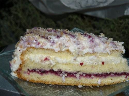 Маскарпоновый торт с кокосом oт Ани - Ангел