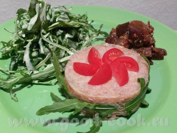 Продолжим рассказ о нашем ужине Главным блюдом был Rillettes de Canard - Паштет из утки , так же от...