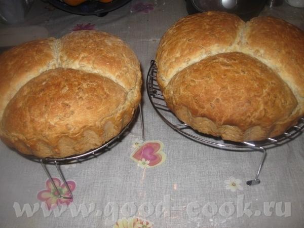 Хлеб получился замечательный