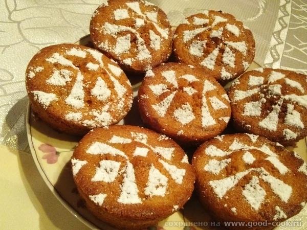 тыквеные кексы