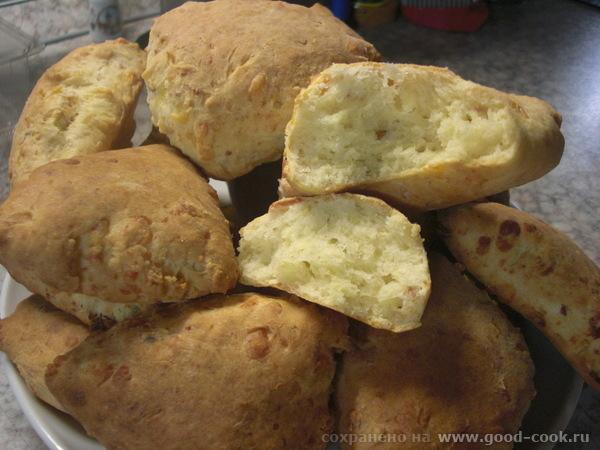сырные булочки с беконом