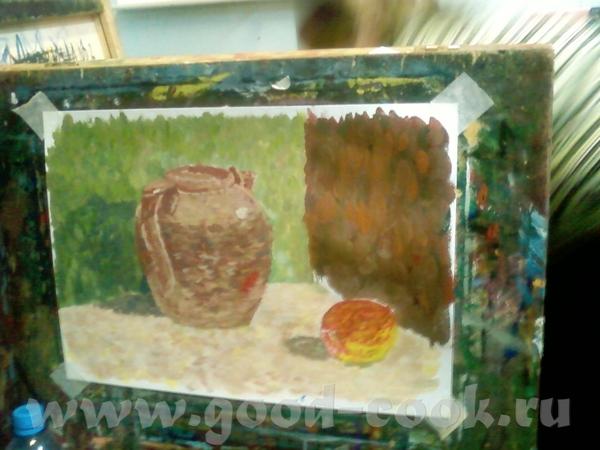 Оооо, скоко всего понаписали Я, так сказать, с отчетом из школы художественной: На рисунке мы домуч... - 7