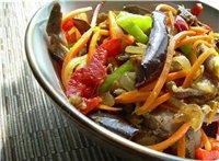 салаты Салат «Янтарь» Салат гарнир из двух сортов капусты с двумя видами подачи, в холодном и тепло... - 5
