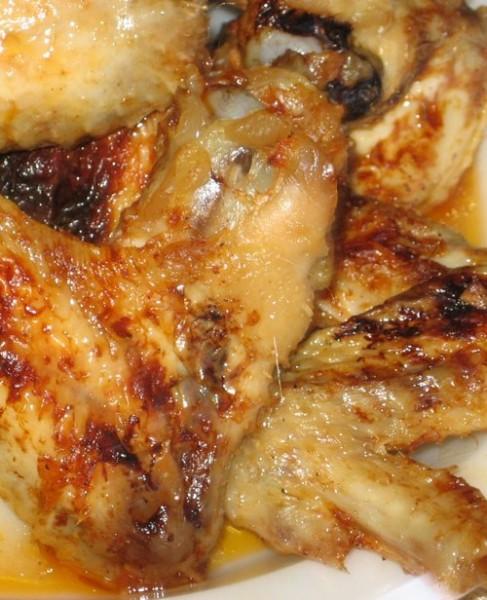 Куриные крылышки в кленовом сиропе - 2
