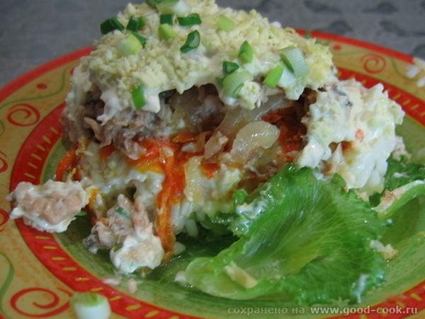 """ещё одно блюдо перед отъездом: Рыбно-рисовый салат от Luna07, """"Вкусняшки От Наташки - 2"""