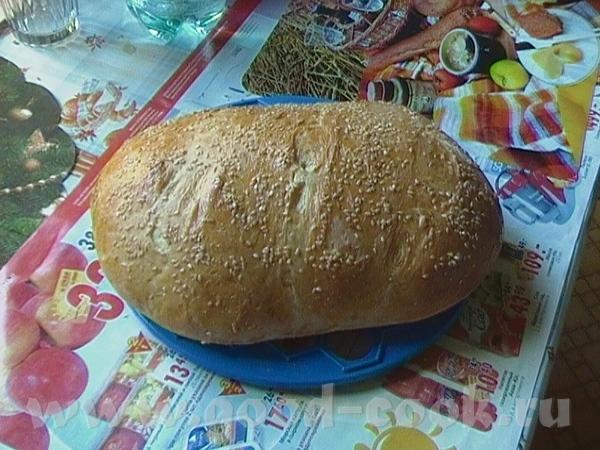 А это молочно-горчичный хлеб (рецепт теста из хлебопечки, пекла в духовке): мука 510 гр вода 120 мл...