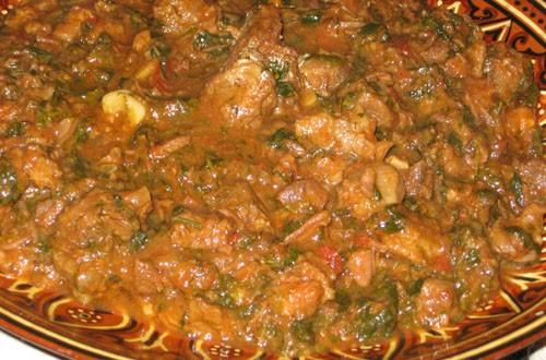И горячее: Картошка-гриль от Острое чашушули из говядины от Милены и - 2