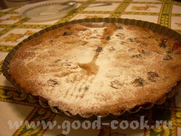 этот рецепт традиционного французского влажного пирога- клафути хорош тем, что вишня в нём использу...