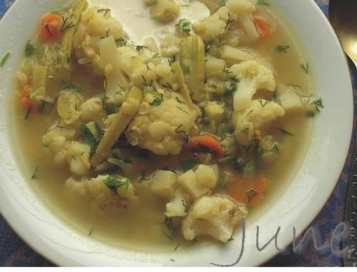 Суп овощной в «марокканском» стиле 2 луковицы, 3 средние моркови, 2 картофеля, 2 кабачка, 1 головка...