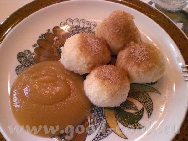 Quarkknцdel (Topfenknцdel) – Творожные кнедли 50 г слив масла 30 г сахара 2 яйца Щепотка соли 180 г... - 2