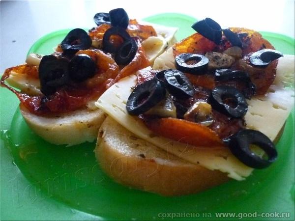 Ну а этот рецепт - для любителей вяленых томатов и экономящих своё время хозяек - 4