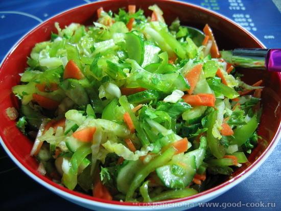 зеленый салат 2