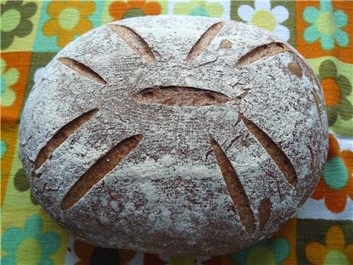 Мне так понравилась моя лепёшка , что я сегодня на его основе испекла хлеб на закваске - 3