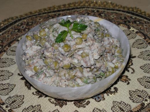 А вот мои блюда, которые готовила на обед Спасибо за рецепт салатика ШПРОТИК только я в него добави... - 2