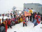 горнолыжный курорт на гору Гладенькая, что расположена в 25 километрах от Саяногорска в Хакасии