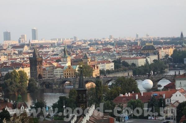 Прага город красных крыш - 2
