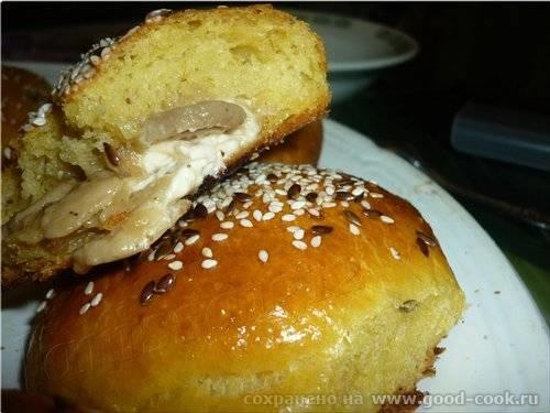 Тыквенно-картофельные булочки с грибами