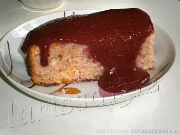 Пирог из киселя