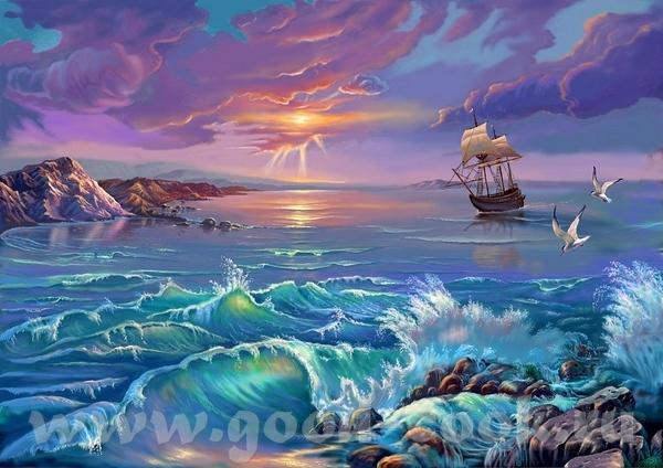 Daniel Ridgway Knight ================== Красиво ======== - 2